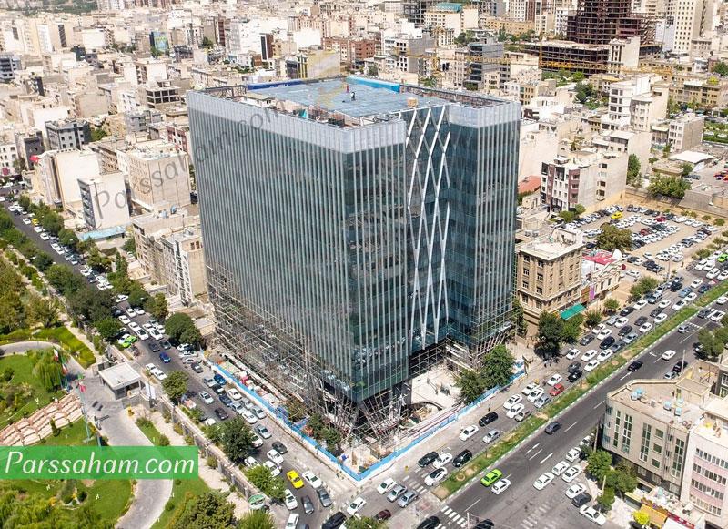 ساختمان سازمان بورس اوراق بهادار تهران در سعادت آباد