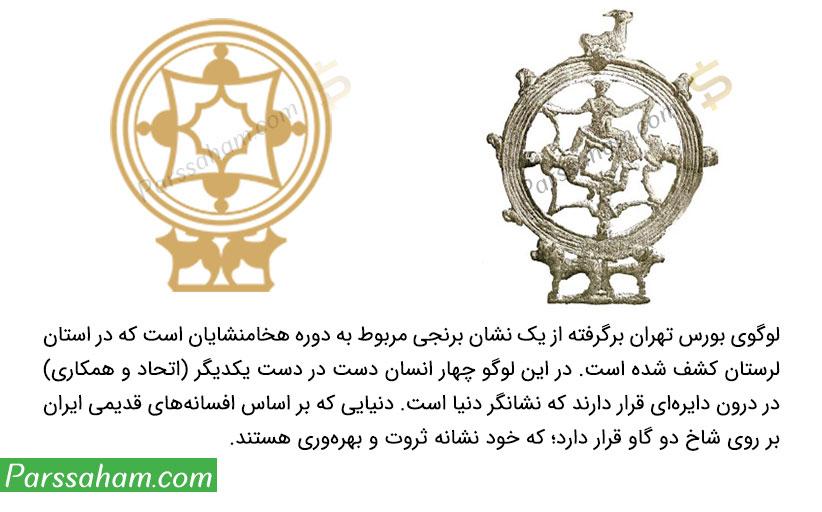 لوگوی بورس تهران