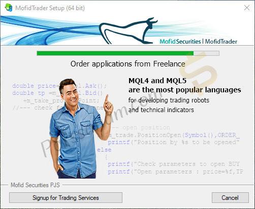 آموزش نصب متاتریدر 5 برای کامپیوتر