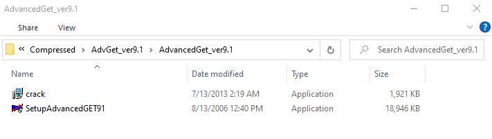 فایل نصب ادونس گت